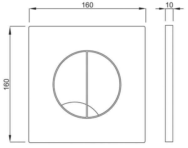Wymiary techniczne przycisku Schwab Arte Duo 4060414401 -image_Schwab_4060414401_2