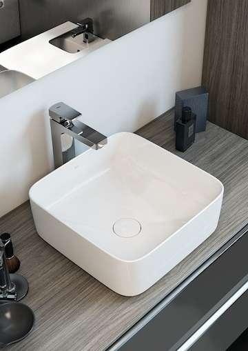 Aranżacja umywalki Roca Inspira Square w perfekcyjnej łazience-image_Roca_A327532000_3