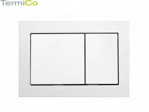 Płytka spłukująca o kubistycznym kształcie do stelaży podtynkowych wc marki Tece.-image_Tece_9.240.700_3