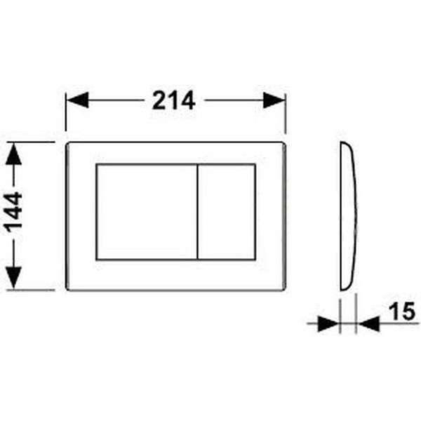 Wymiary techniczne przycisku do wc TecePlanus biały mat-image_Tece_9.240.322_4