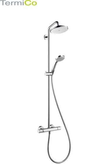 Zestaw prysznicowy z baterią termostatyczną Hansgrohe Croma 220 27188000-image_Hansgrohe_27188000_4