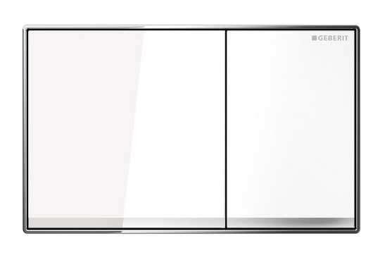 Geberit Sigma 60 przycisk do wc szkło białe 115.640.SI.1 do stelaży UP320 i UP720-image_Geberit_115.640.SI.1_1