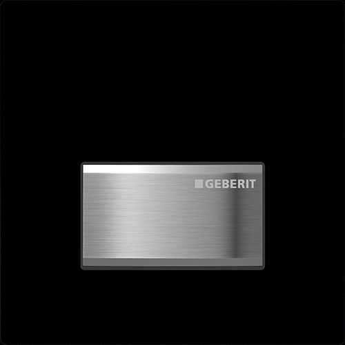 Geberit Sigma50 pneumatyczny przycisk spłukujący do pisuaru czarny 116.016.DW.5, pasuje tylko i wyłącznie do stelaży podtynkowych do pisuaru firmy Geberit.-image_Geberit_116.016.DW.5_1