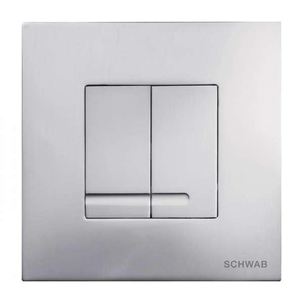 Schwab Arte Duo Metal matowy przycisk spłukujący do stelaży marki Schwab-image_Roca_810026Z00R001_1