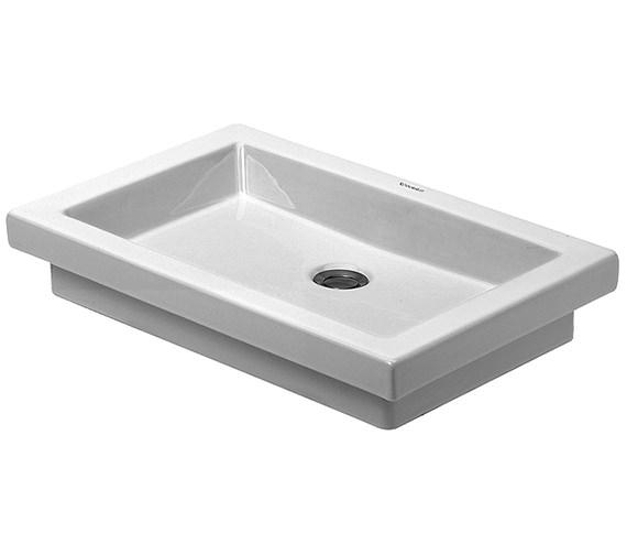 Duravit 2nd Floor umywalka wpuszczana w blat 0317580029-image_Duravit_0317580029_1
