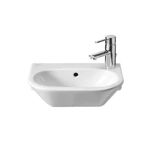 Umywalka ścienna mała 40x 27 Maxi Clean A32764500M-image_Roca_A32764500M_1