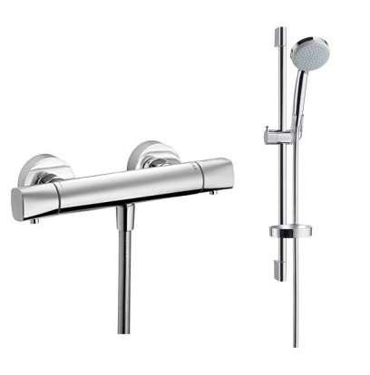 Zestaw prysznicowy termostatyczny ze słuchawka prysznicową na drążku -image_versostat/W_1