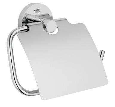 Akcesorium łazienkowe Grohe Essentials 40367001 - uchwyt na papier z klapką.-image_Grohe_40367001_1