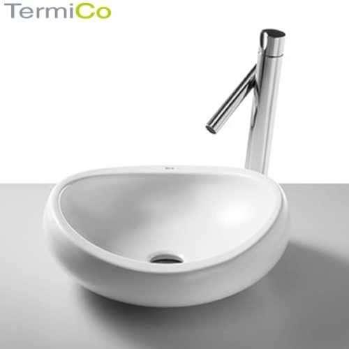 Jedna z ciekawszych nablatowych umywalek z oferty firmy Roca - Urbi 1 o średnicy 45cm-image_Roca_A327225000_1