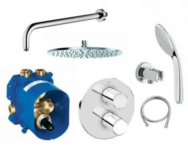 pAKIET PODTYNKOWY termostatyczny grotherm 3000 GR/GROTHERM3000/300-image_Kludi / Grohe_GR/GROHTHERM3000/300_1