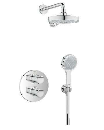 Podtynkowy zestaw prysznicowy z termostatem Grohe 34283001-image_Grohe_34283001_1
